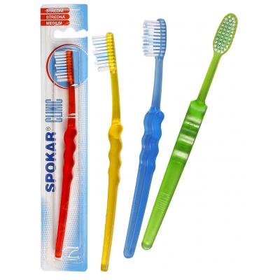 Spokar 3416 Clinic zubní kartáček středně měkký
