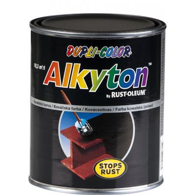 Dupli-Color Alkyton Kovářská barva na kov, černá, 750 ml
