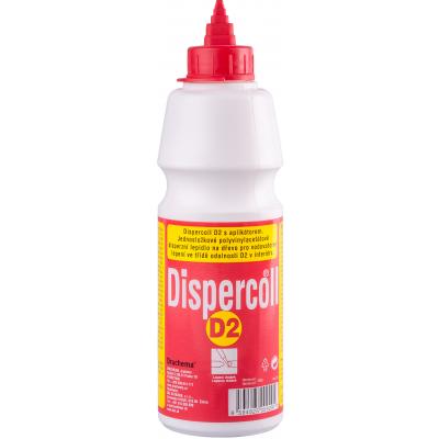 Druchema Dispercoll D2 disperzní lepidlo na dřevo, aplikátor, 500 g