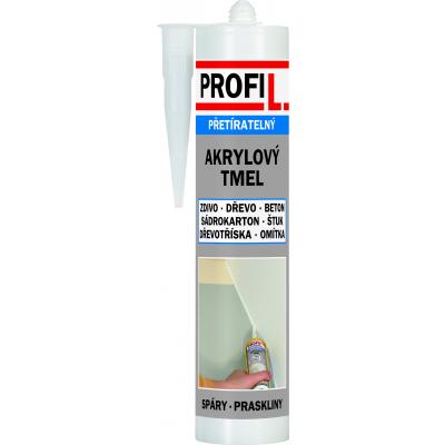 Soudal Profil akrylový tmel, přetíratelný, bílý, 310 ml
