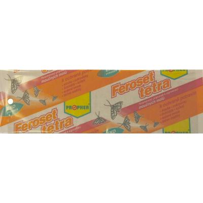 Feroset Tetra lepový pás na potravinářské moly, 20 x 6 cm