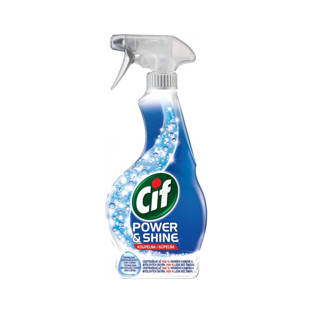 Cif Power & Shine Koupelna čistič, 500 ml