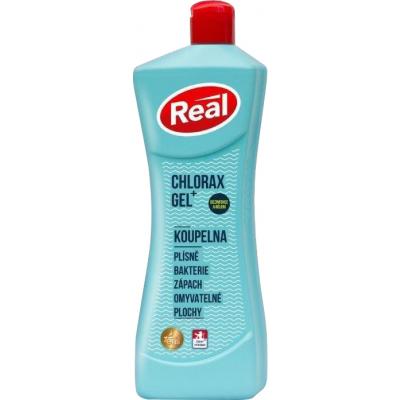 Real gel chlorax plus koupelna dezinfekční univerzální čistič, 650 g
