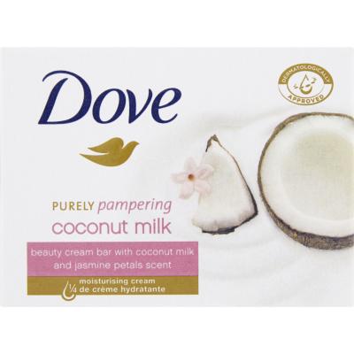 Dove Purely Pampering & Coconut tuhé mýdlo, 100 g