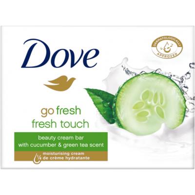 Dove Go Fresh Touch okurka a zelený čaj tuhé mýdlo, 100 g