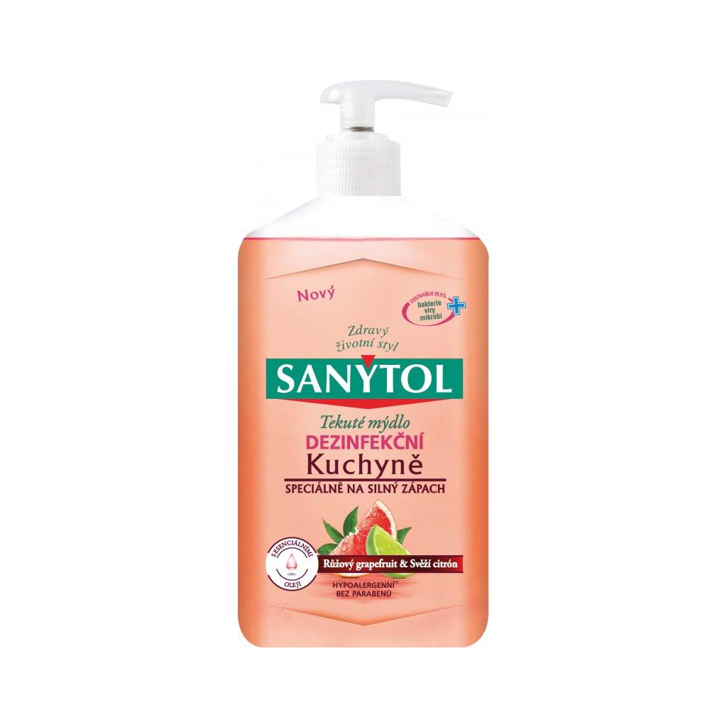 Sanytol Grapefruit & Svěží citrón dezinfekční mýdlo, 250 ml