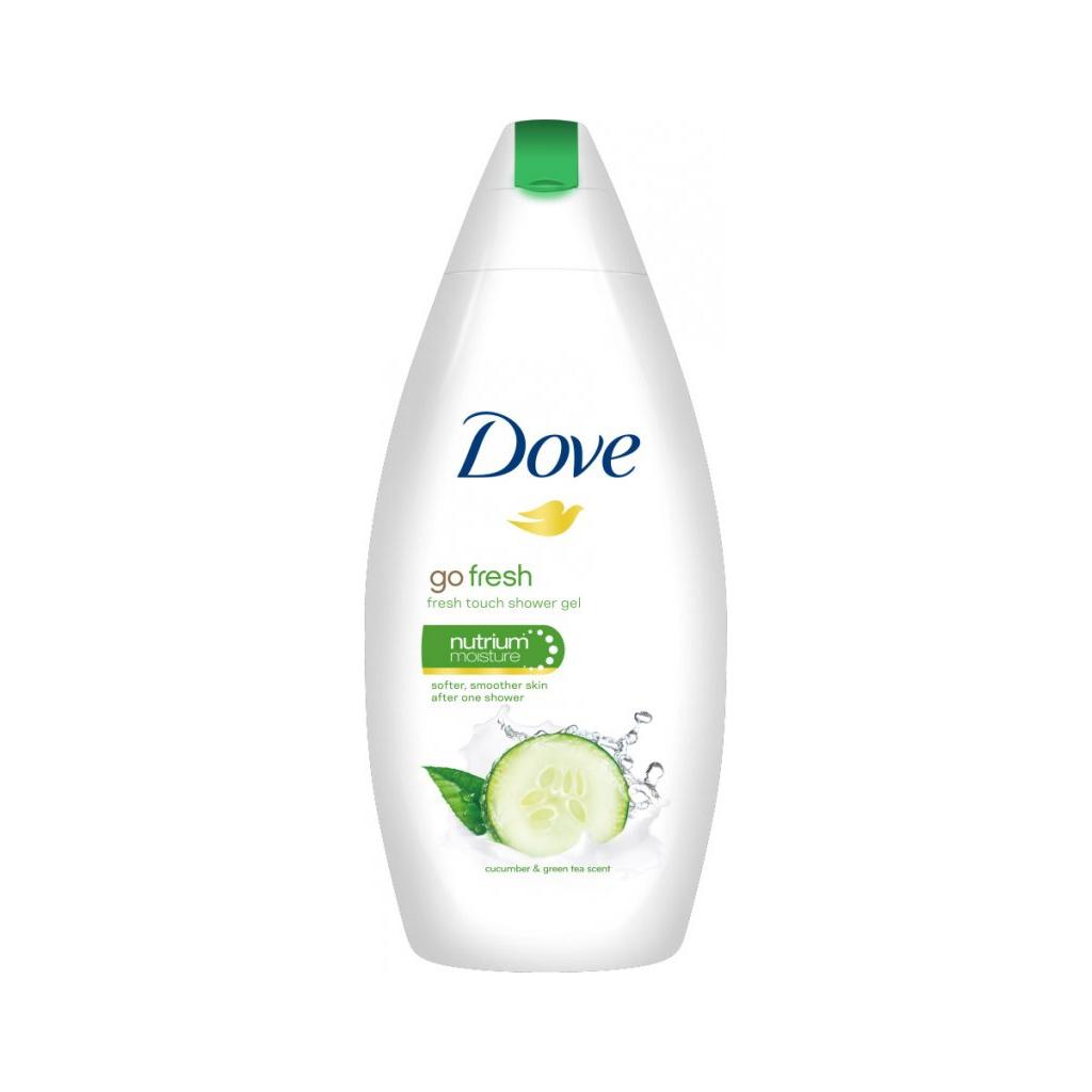 Dove Okurka a zelený čaj sprchový gel, 250 ml