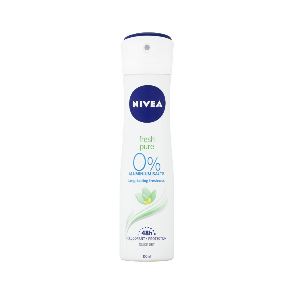 Nivea Fresh & Pure deodorant, 150 ml