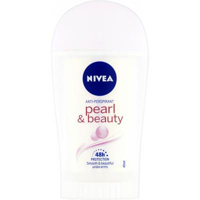 Nivea Pearl & Beauty tuhý antiperspirant, 40 ml
