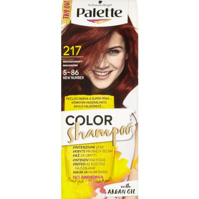 Schwarzkopf Palette Color Shampoo barva na vlasy 217 Mahagonová, 50 ml