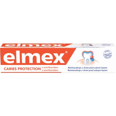 Elmex optimální prevence proti zubnímu kazu zubní pasta 75 ml