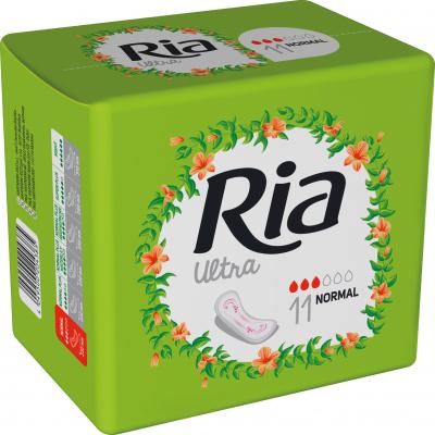 Ria Ultra Silk Normal, dámské vložky, 11 ks