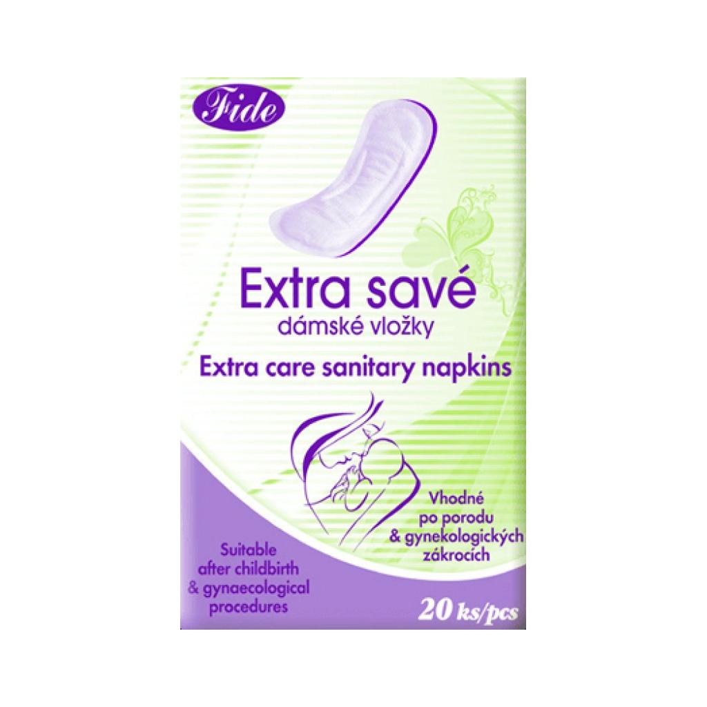 Fide Extra savé porodnické vložky, 20 ks