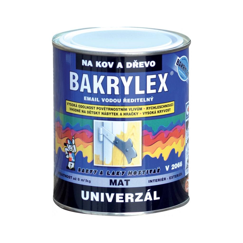 Bakrylex Univerzál mat V2066 barva na dřevo a kov 0620 žluť světlá 700 g