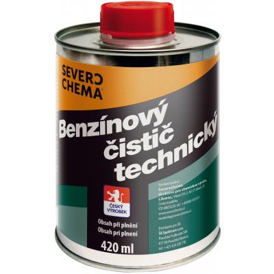Severochema benzínový čistič technický, 420 ml