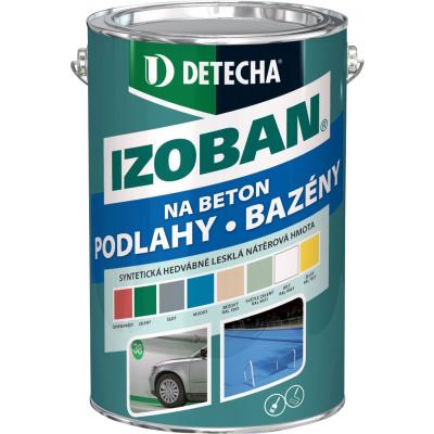 Detecha Izoban barva na beton, červenohnědá, 5 kg