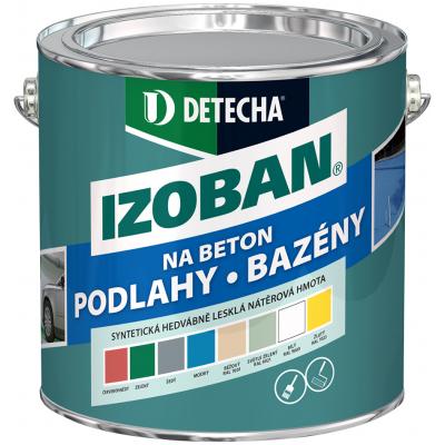 Detecha Izoban barva na beton, zelená, 2 kg