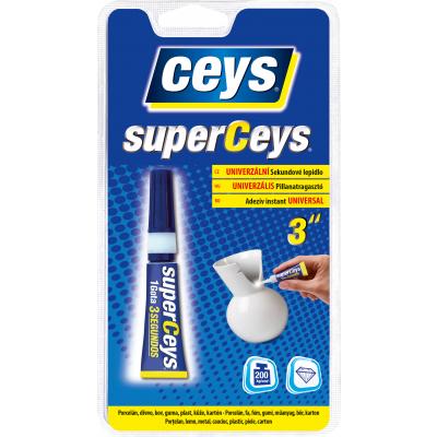 Ceys Superceys vteřinové lepidlo, 3 g