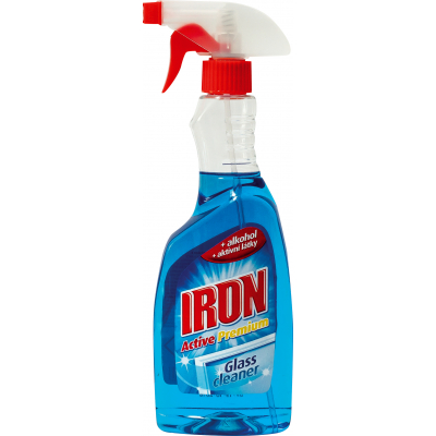 Iron Active Premium čistič  na okna, 500 ml