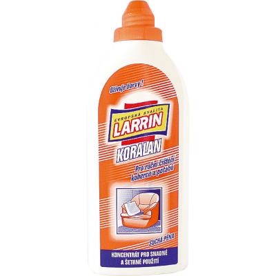 Larrin Koralan, pro ruční čištění koberců a potahů, 500 ml
