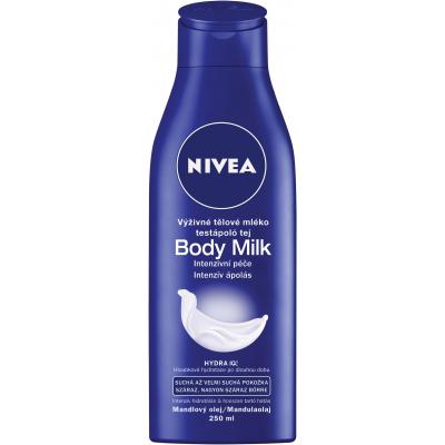 Nivea Body Milk výživné tělové mléko, 250 ml