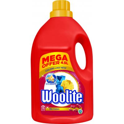 Woolite Extra Color prací gel na barevné, 4,5 l