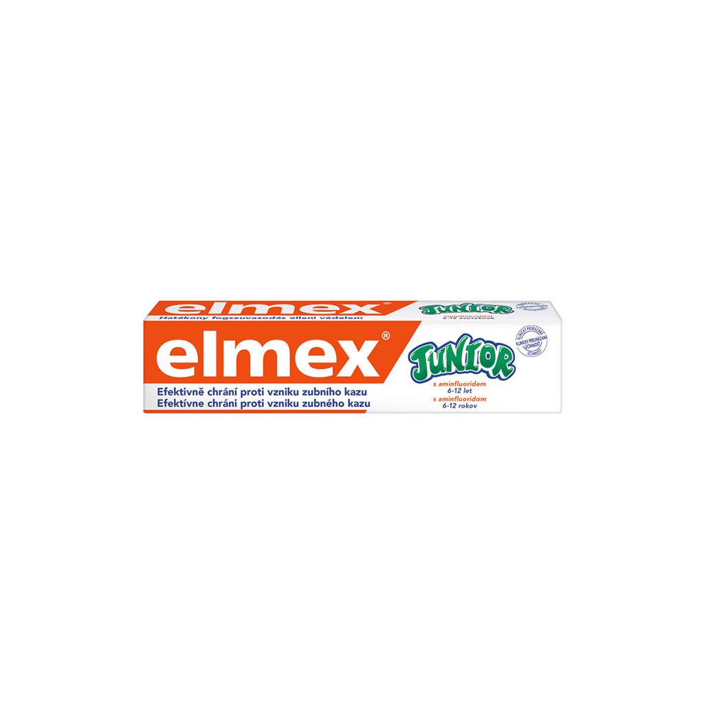 Elmex Junior Fluoridová zubní pasta pro děti 6-12 let, 75 ml
