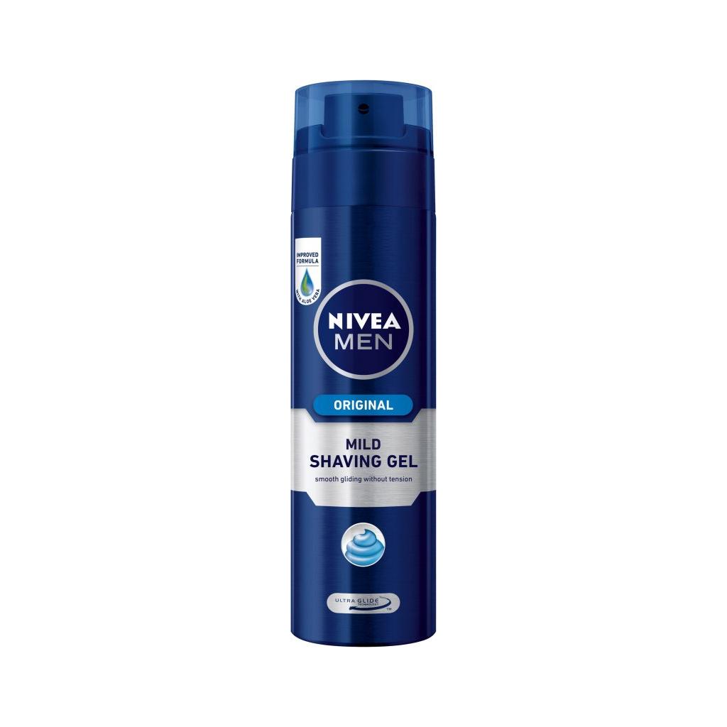 Nivea Men Original, gel na holení, 200 ml