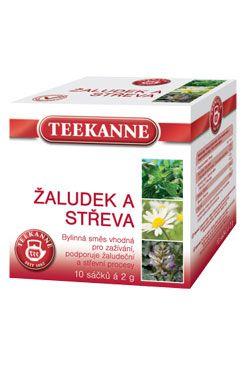 Čaj Teekanne bylinný žaludek a střeva 10sacc