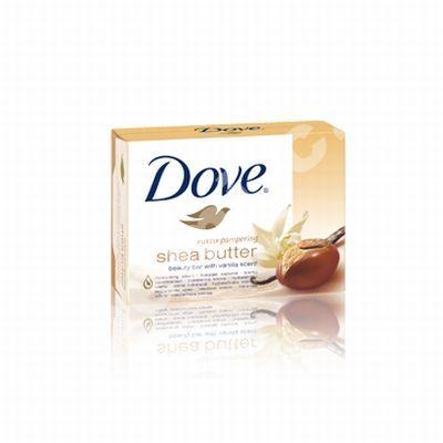 Dove tuhé mýdlo 100g Purely Pampering bambucké máslo, vanilka
