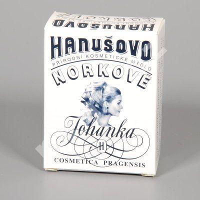 Hanušovo přírodní kosmetické norkové mýdlo Johanka 100g