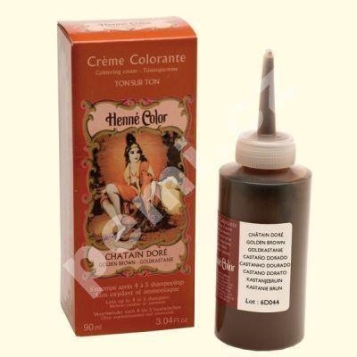 Henné Color tónovací přeliv na vlasy  90ml Zlatý kaštan ( původně Kaštan)