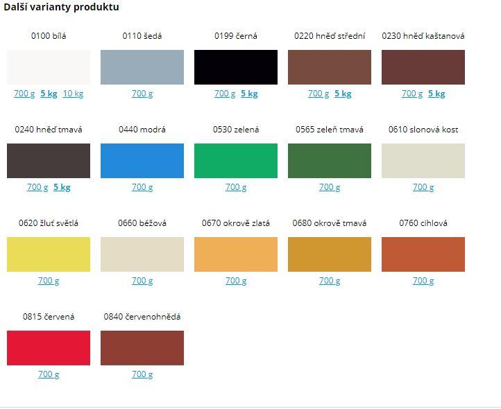 Bakrylex Univerzál mat V2066 barva na dřevo a kov 0199 černá 700 g