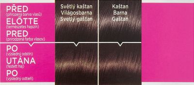 L ́Oréal Paris barva na vlasy Casting Crème Gloss 415 ledový kaštan
