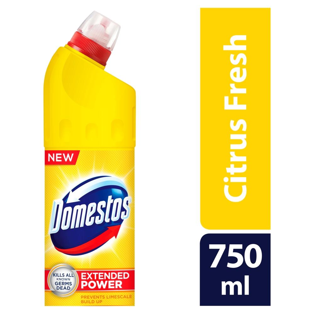 Domestos 24h Citrus Fresh čistič WC, 750 ml