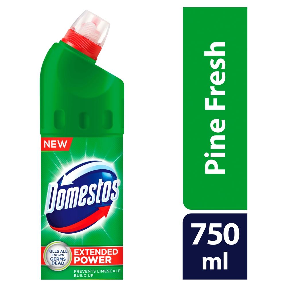 Domestos 24h Pine Fresh, tekutý desinfekční a čisticí prostředek, 750 ml