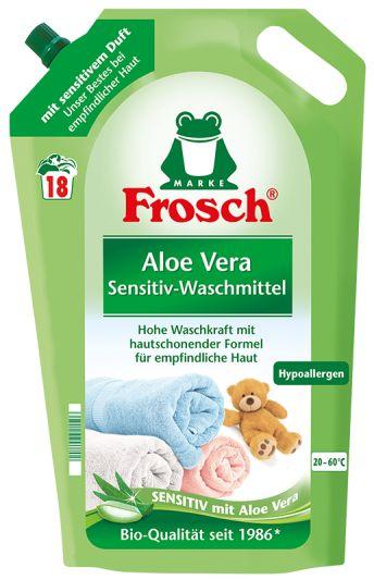 Frosch aloe vera na praní jemného prádla 1,8L