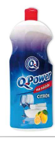 Q Power na nádobí 1l CITRON