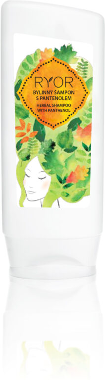 Bylinný šampon s pantenolem. Hair Care. 200 ml.