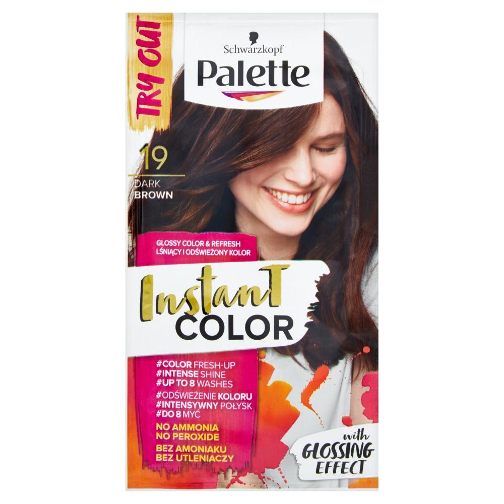 Palette Instant color č. 19 Tmavohnědý 25ml
