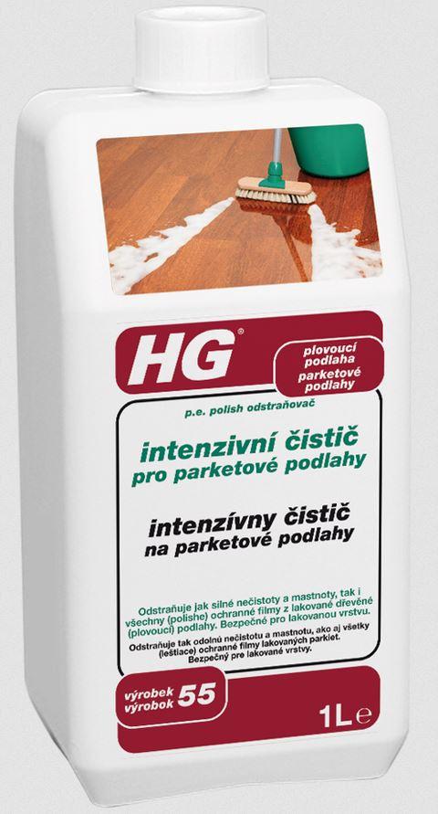HG intenzivní čistič pro parketové podlahy 1000 ml