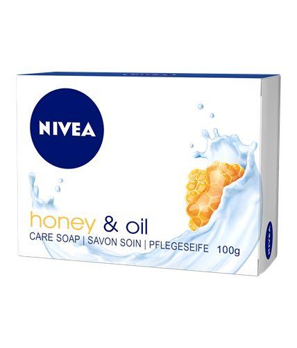 Nivea tuhé krémové mýdlo 100g Honey & Oil