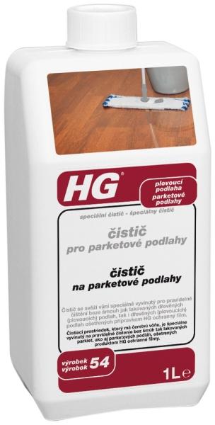 HG čistič pro parketové podlahy 1000 ml