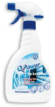 Q Power čistič na koupelny 500ml