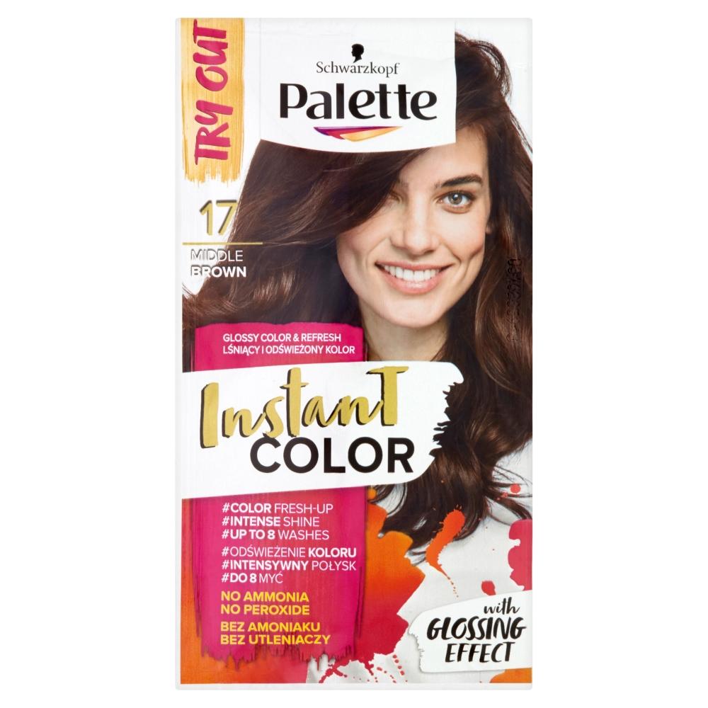 Palette Instant color č. 17 Středně hnědý 25ml
