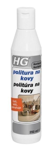 HG politura na kovy 250 ml