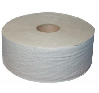 Toaletní papír jumbo průměr 19 cm šedý 1vrstvý