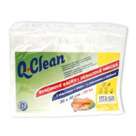 Q Clean mikrotenové  sáčky 30x40cm 50ks 10my