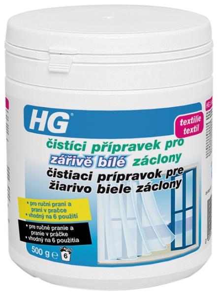 HG čisticí přípravek pro zářivě bílé záclony 500 g