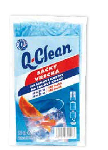 Q Clean sáčky na led 10ks 24kostek 25my